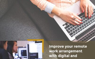 How does digital transformation improve your remote work arrangements?